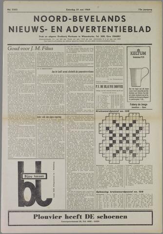 Noord-Bevelands Nieuws- en advertentieblad 1969-05-31