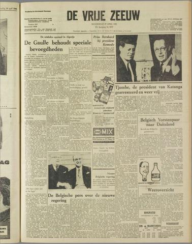 de Vrije Zeeuw 1961-04-27