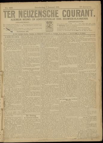 Ter Neuzensche Courant. Algemeen Nieuws- en Advertentieblad voor Zeeuwsch-Vlaanderen / Neuzensche Courant ... (idem) / (Algemeen) nieuws en advertentieblad voor Zeeuwsch-Vlaanderen 1915-01-07