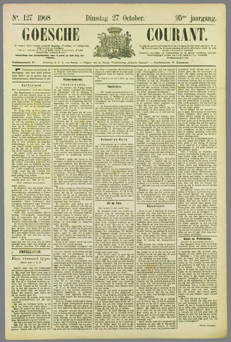 Goessche Courant 1908-10-27