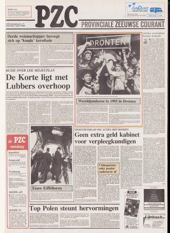 Provinciale Zeeuwse Courant 1989-04-01
