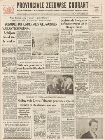 Provinciale Zeeuwse Courant 1965-11-04