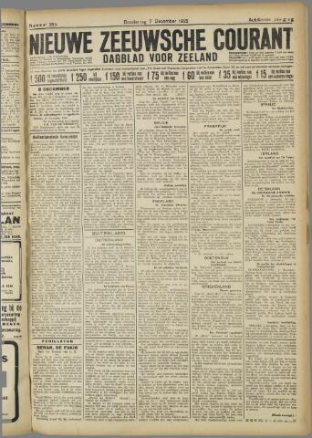 Nieuwe Zeeuwsche Courant 1922-12-07