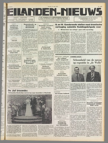 Eilanden-nieuws. Christelijk streekblad op gereformeerde grondslag 1975-04-15