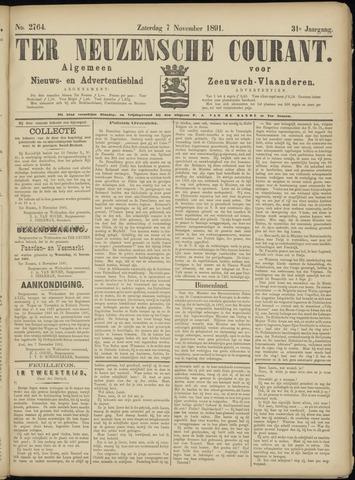 Ter Neuzensche Courant. Algemeen Nieuws- en Advertentieblad voor Zeeuwsch-Vlaanderen / Neuzensche Courant ... (idem) / (Algemeen) nieuws en advertentieblad voor Zeeuwsch-Vlaanderen 1891-11-07