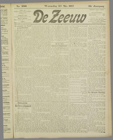 De Zeeuw. Christelijk-historisch nieuwsblad voor Zeeland 1917-05-30