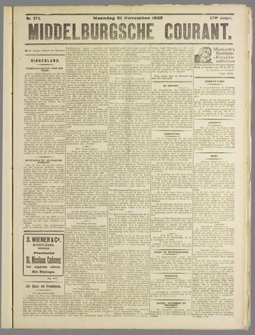 Middelburgsche Courant 1927-11-21