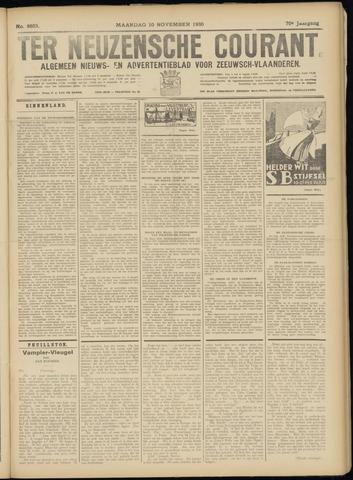 Ter Neuzensche Courant. Algemeen Nieuws- en Advertentieblad voor Zeeuwsch-Vlaanderen / Neuzensche Courant ... (idem) / (Algemeen) nieuws en advertentieblad voor Zeeuwsch-Vlaanderen 1930-11-10