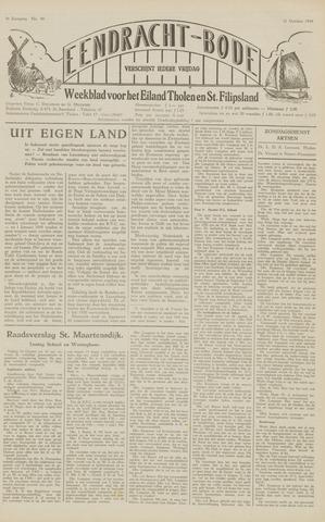 Eendrachtbode (1945-heden)/Mededeelingenblad voor het eiland Tholen (1944/45) 1949-10-21