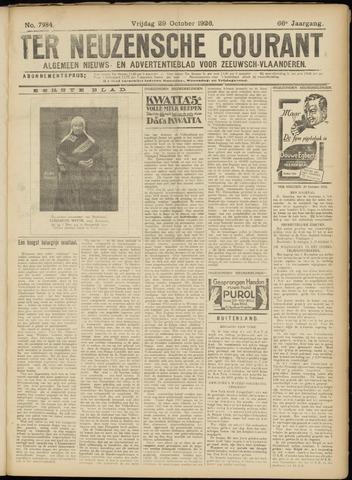 Ter Neuzensche Courant. Algemeen Nieuws- en Advertentieblad voor Zeeuwsch-Vlaanderen / Neuzensche Courant ... (idem) / (Algemeen) nieuws en advertentieblad voor Zeeuwsch-Vlaanderen 1926-10-29