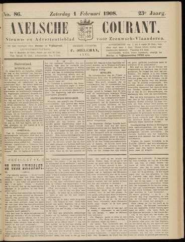 Axelsche Courant 1908-02-01