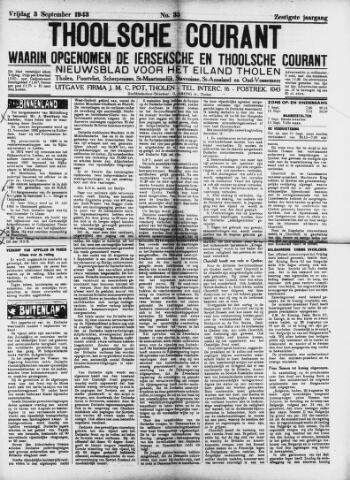 Ierseksche en Thoolsche Courant 1943-09-03