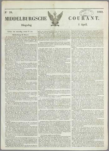 Middelburgsche Courant 1862-04-01