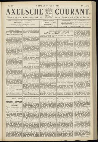 Axelsche Courant 1939-06-09