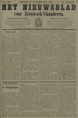 Nieuwsblad voor Zeeuwsch-Vlaanderen 1901-02-13
