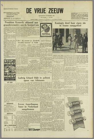 de Vrije Zeeuw 1963-10-10