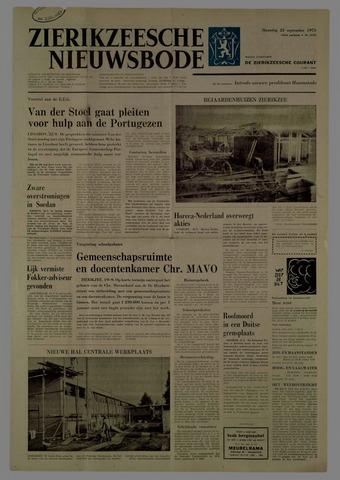 Zierikzeesche Nieuwsbode 1975-09-22