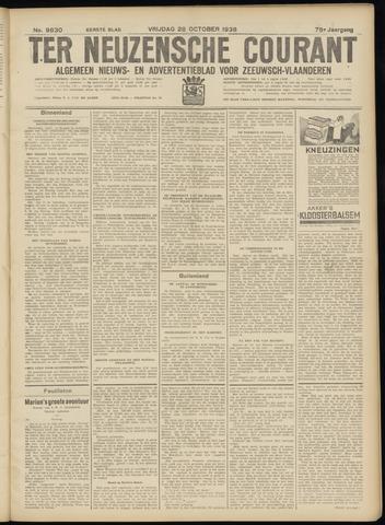 Ter Neuzensche Courant. Algemeen Nieuws- en Advertentieblad voor Zeeuwsch-Vlaanderen / Neuzensche Courant ... (idem) / (Algemeen) nieuws en advertentieblad voor Zeeuwsch-Vlaanderen 1938-10-28