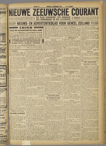 Nieuwe Zeeuwsche Courant 1923-11-27