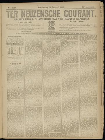 Ter Neuzensche Courant. Algemeen Nieuws- en Advertentieblad voor Zeeuwsch-Vlaanderen / Neuzensche Courant ... (idem) / (Algemeen) nieuws en advertentieblad voor Zeeuwsch-Vlaanderen 1919-01-30