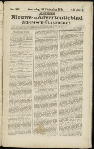 Ter Neuzensche Courant. Algemeen Nieuws- en Advertentieblad voor Zeeuwsch-Vlaanderen / Neuzensche Courant ... (idem) / (Algemeen) nieuws en advertentieblad voor Zeeuwsch-Vlaanderen 1864-09-28