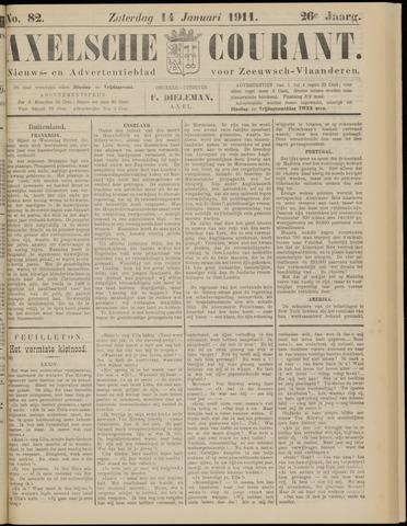 Axelsche Courant 1911-01-14