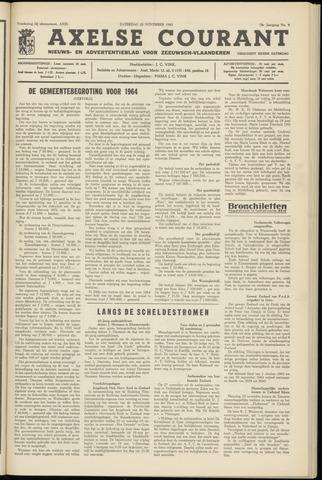 Axelsche Courant 1963-11-23