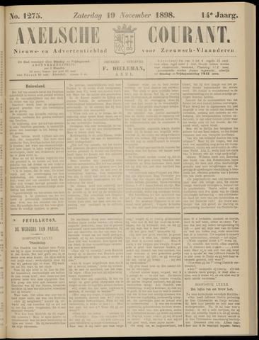 Axelsche Courant 1898-11-19