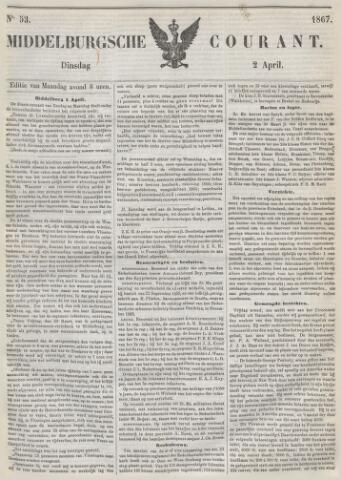 Middelburgsche Courant 1867-04-02