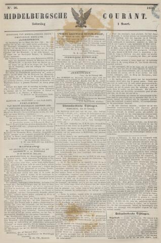 Middelburgsche Courant 1851-03-01