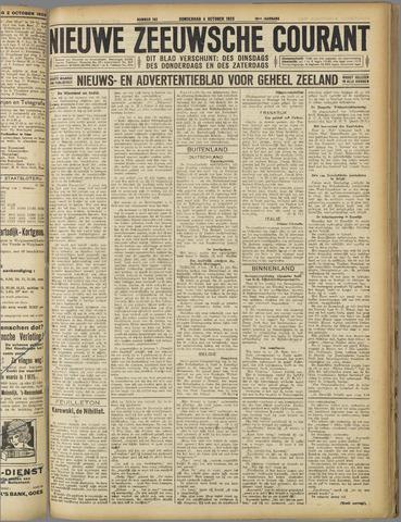 Nieuwe Zeeuwsche Courant 1923-10-04