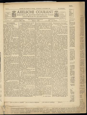 Axelsche Courant 1945-11-10