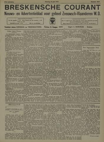 Breskensche Courant 1938-06-21