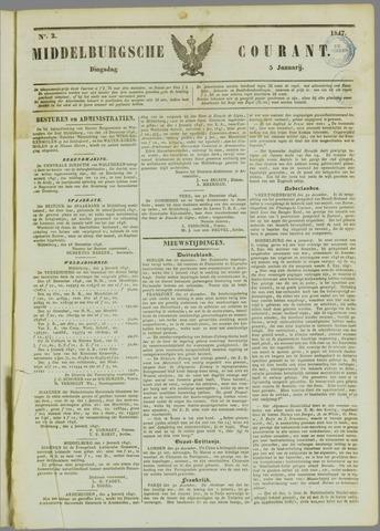Middelburgsche Courant 1847-01-05