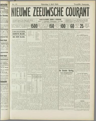 Nieuwe Zeeuwsche Courant 1916-07-01