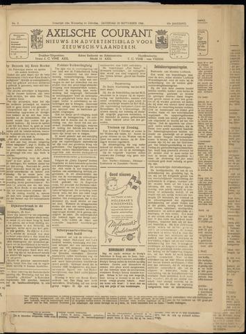 Axelsche Courant 1945-09-29
