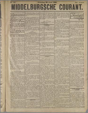 Middelburgsche Courant 1921-06-28