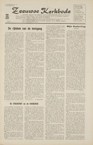 Zeeuwsche kerkbode, weekblad gewijd aan de belangen der gereformeerde kerken/ Zeeuwsch kerkblad 1965-10-01