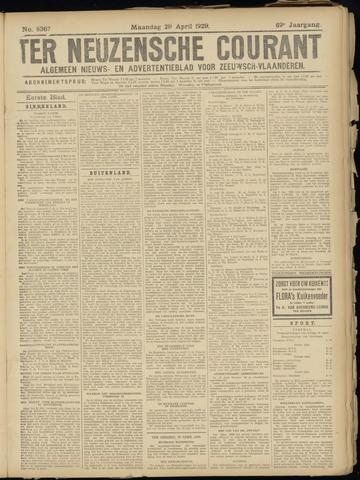 Ter Neuzensche Courant. Algemeen Nieuws- en Advertentieblad voor Zeeuwsch-Vlaanderen / Neuzensche Courant ... (idem) / (Algemeen) nieuws en advertentieblad voor Zeeuwsch-Vlaanderen 1929-04-29