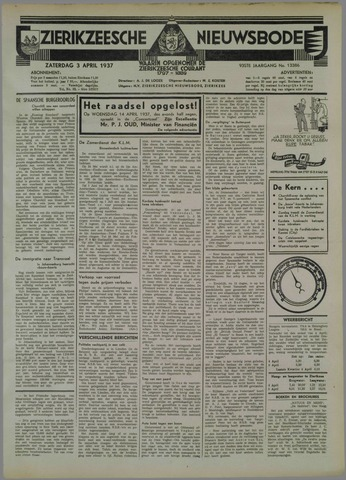 Zierikzeesche Nieuwsbode 1937-04-03