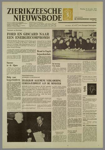 Zierikzeesche Nieuwsbode 1974-12-16