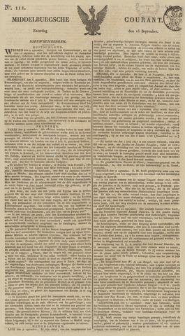 Middelburgsche Courant 1827-09-15