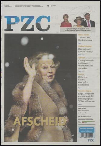 Provinciale Zeeuwse Courant 2013-01-29