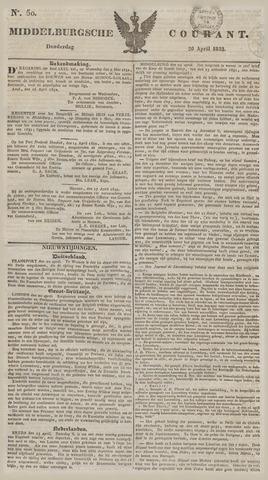 Middelburgsche Courant 1832-04-26