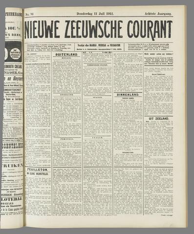Nieuwe Zeeuwsche Courant 1912-07-11