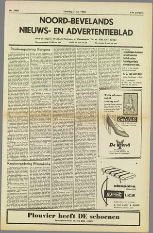 Noord-Bevelands Nieuws- en advertentieblad 1960-05-07