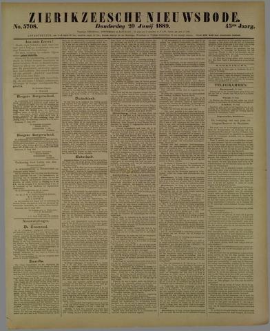 Zierikzeesche Nieuwsbode 1889-06-20