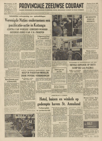 Provinciale Zeeuwse Courant 1960-10-18