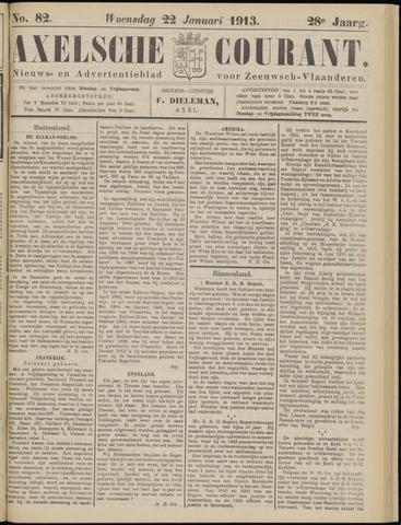 Axelsche Courant 1913-01-22