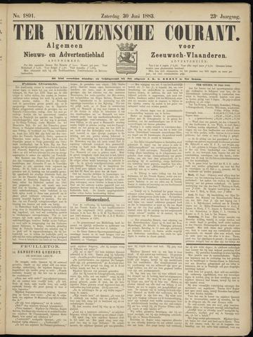 Ter Neuzensche Courant. Algemeen Nieuws- en Advertentieblad voor Zeeuwsch-Vlaanderen / Neuzensche Courant ... (idem) / (Algemeen) nieuws en advertentieblad voor Zeeuwsch-Vlaanderen 1883-06-30